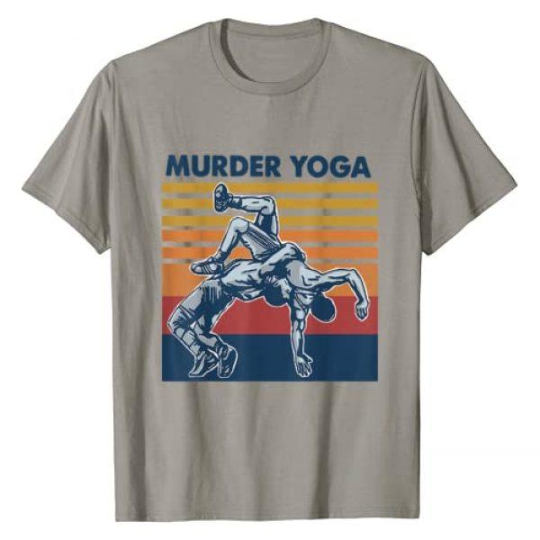 Wrestling Murder By Merch Graphic Tshirt 1 Wrestling Murder Yoga Funny Gift T-Shirt