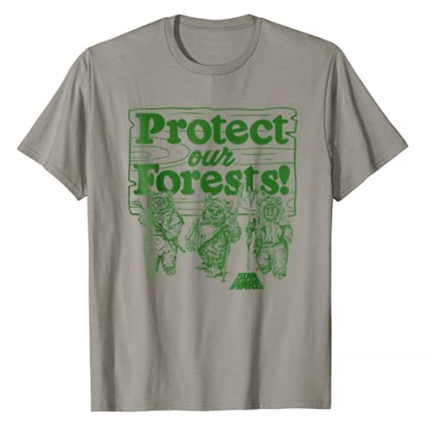 Star Wars Graphic Tshirt 1 Ewoks Protect Our Forests Camp Graphic T-Shirt