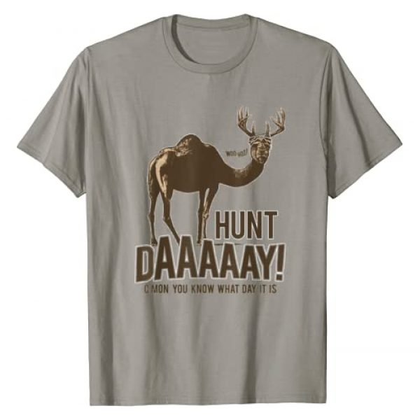 HUNTER Graphic Tshirt 1 Hunt Day Camel Buck Deer Funny Hunting Humpday Shirt