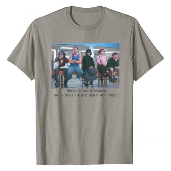 The Breakfast Club Graphic Tshirt 1 Breakfast Club We're All Pretty Bizarre Graphic T-Shirt
