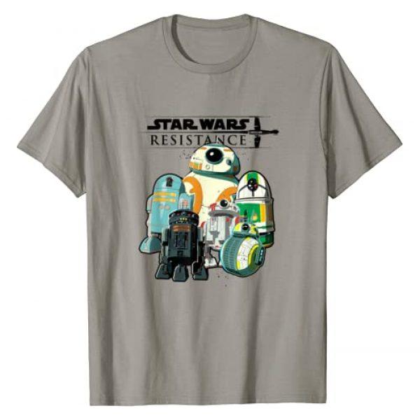 Star Wars Graphic Tshirt 1 Resistance Droids T-Shirt