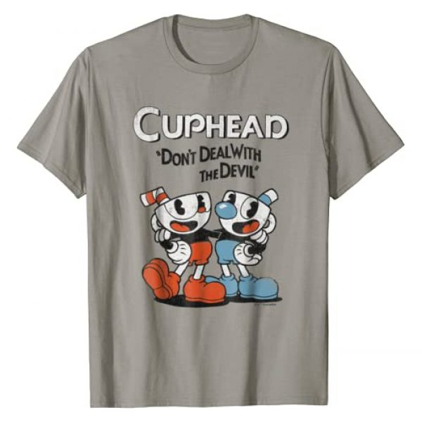 Cuphead Graphic Tshirt 1 & Mugman Don't Deal With The Devil Graphic T-Shirt