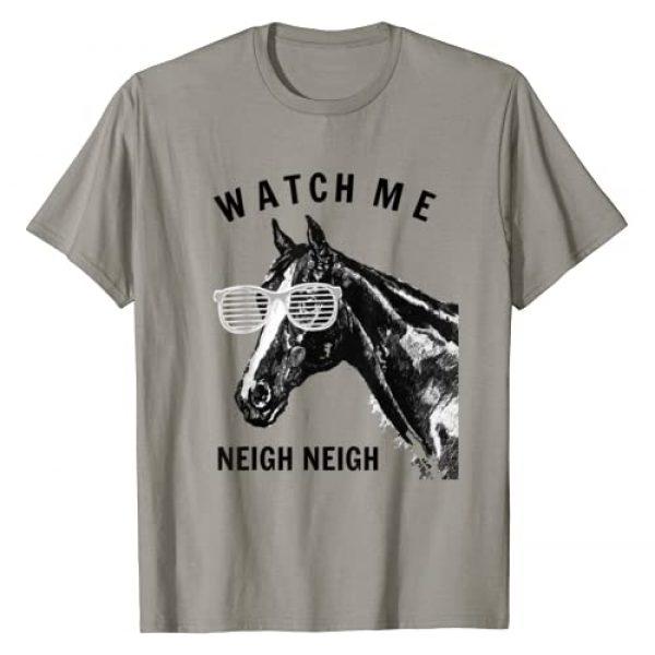 Race Horse T-Shirt Watch me Neigh Neigh Graphic Tshirt 1 Funny Race Horse T-Shirt Watch Me Neigh Neigh T-Shirt
