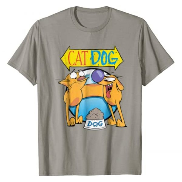 Dog and Cat Graphic Tshirt 1 CatDog Classic Title Poster Graphic T-Shirt