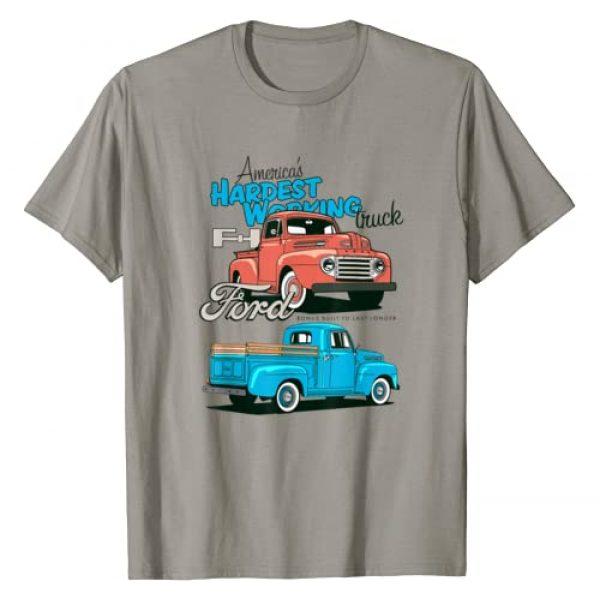 Ford Trucks Graphic Tshirt 1 Hardest Working T-Shirt