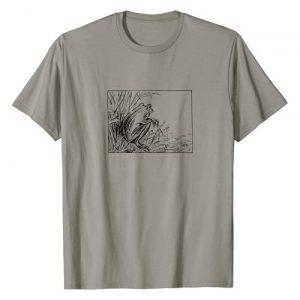 Cute Frog Co. Graphic Tshirt 1 Cute Sad Cottagecore Frog - Vintage Aesthetics T-Shirt