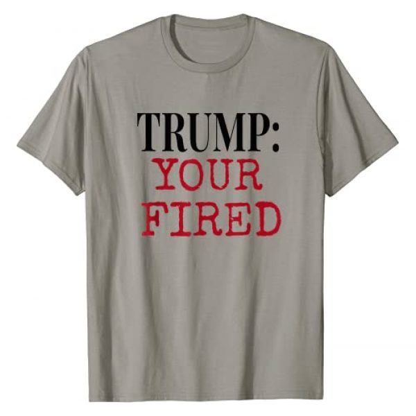 Anti Trump Team Co. Graphic Tshirt 1 Funny Adult Anti Trump Saying Your Fired Vote 2020 T-Shirt