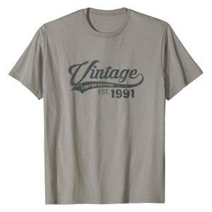 Funny Vintage 1991 30th Birthday Gifts Graphic Tshirt 1 Vintage 1991 30 Year Old 30th Birthday Gift for Men Women T-Shirt
