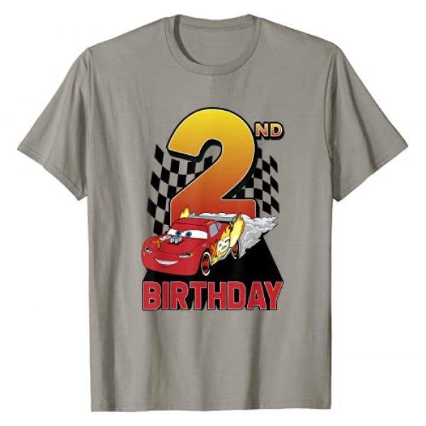 Disney Graphic Tshirt 1 Pixar Cars Lightning McQueen 2nd Birthday Peel Out T-Shirt