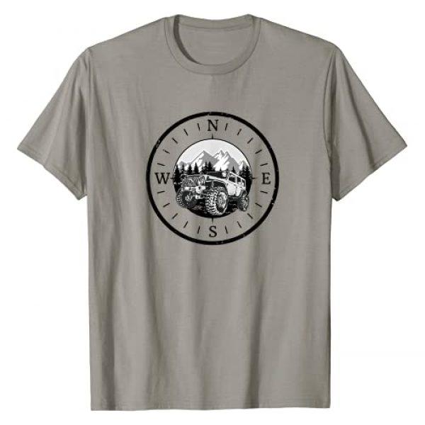 Off Road 4x4 Mudding Gift Graphic Tshirt 1 Vintage Retro Off Road Adventure   4x4 Mudding T-Shirt
