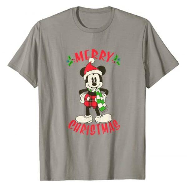 Disney Graphic Tshirt 1 Vintage Mickey Mouse Christmas Holiday T-Shirt