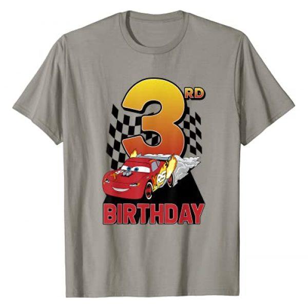 Disney Graphic Tshirt 1 Pixar Cars Lightning McQueen 3rd Birthday Peel Out T-Shirt