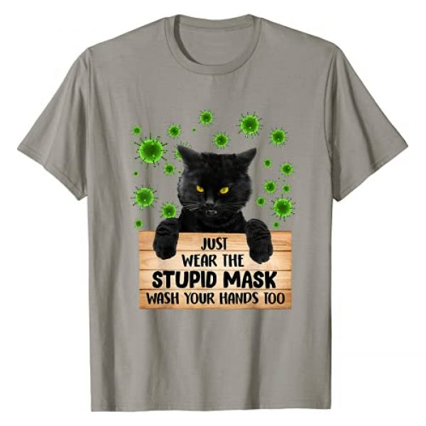 Just Wear The Stupid Mask Wash Your Hands Too Graphic Tshirt 1 Just Wear The Stupid Mask Wash Your Hands Too T-Shirt