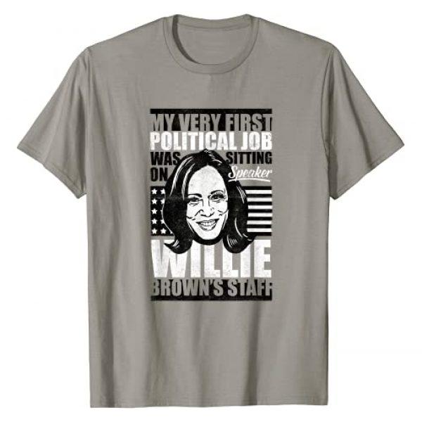 Anti-Biden Kamala Harris First Job Willie Brown Graphic Tshirt 1 Female VP T-Shirt