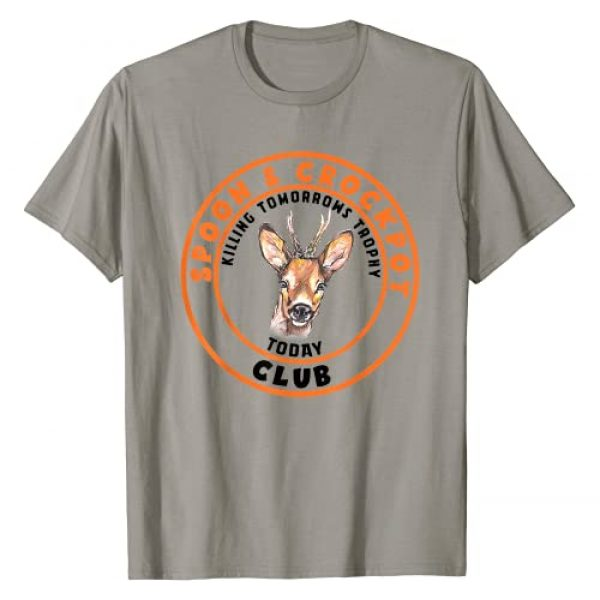 Spoon And Crock Pot By Merch Graphic Tshirt 1 Spoon And Crockpot Club Killing Tomorrows Trophy Today T-Shirt