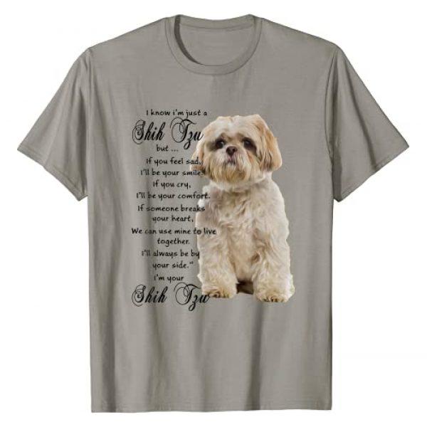 Shitzu Dog Clothing Graphic Tshirt 1 I Know I'm Just A Shih Tzu Puppy Face Shitzu Gifts for Women T-Shirt