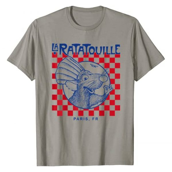 Disney Graphic Tshirt 1 Pixar Ratatouille Remy Paris Checkerboard T-Shirt T-Shirt