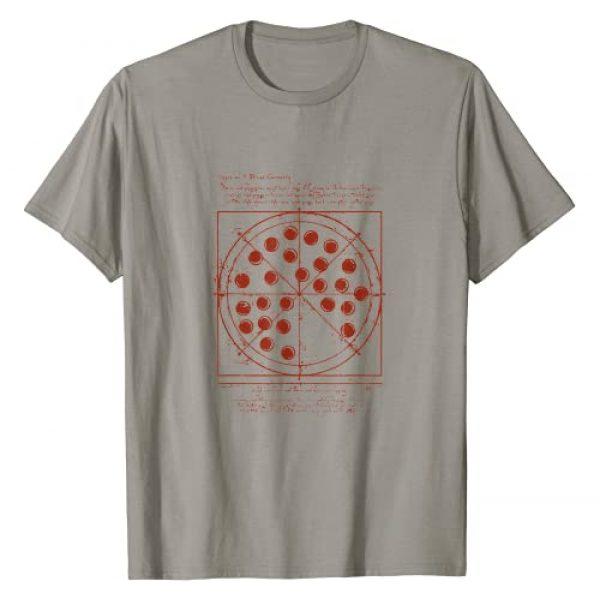 wooow Graphic Tshirt 1 Geometrical da Vinci pizza t-shirt T-Shirt
