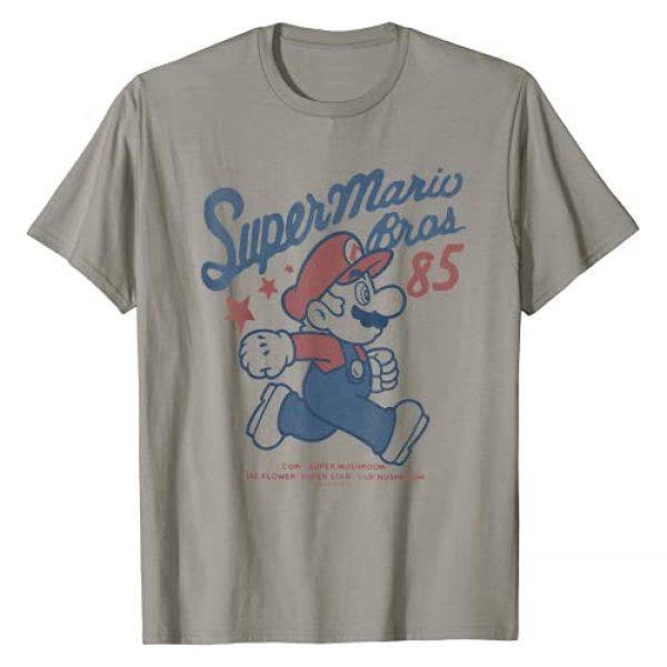 SUPER MARIO Graphic Tshirt 1 Nintendo Super Mario Brothers '85 Vintage Stars T-Shirt T-Shirt