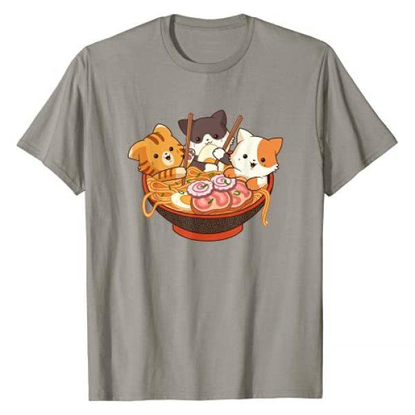 Kawaii Ramen Apparel Co. Graphic Tshirt 1 Kawaii Cute Anime Cats Otaku Japanese Ramen Noodles Gift T-Shirt