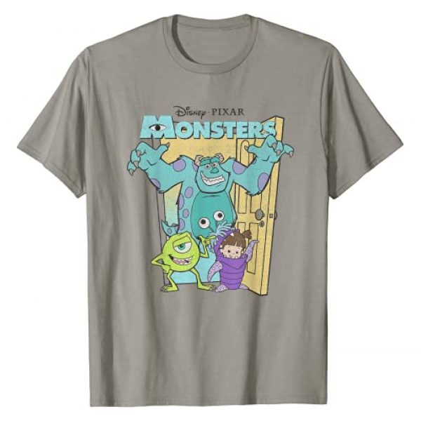Disney Graphic Tshirt 1 Pixar Monsters Inc. Mike Sully Boo Group Poster T-Shirt