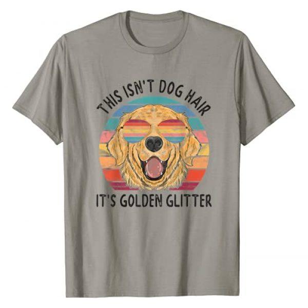 Golden Retriever Dog Apparel Brand Graphic Tshirt 1 This isnt Dog Hair Its Golden Glitter Golden Retriever Dog T-Shirt