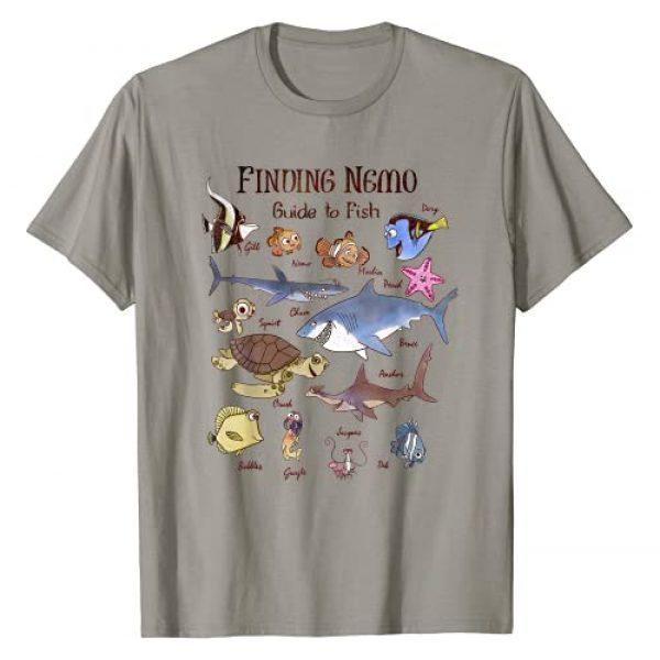 Disney Graphic Tshirt 1 Pixar Finding Nemo Fish Guide Graphic T-Shirt T-Shirt