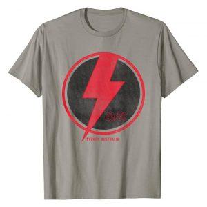 AC/DC Graphic Tshirt 1 Lightning Bolt T-Shirt