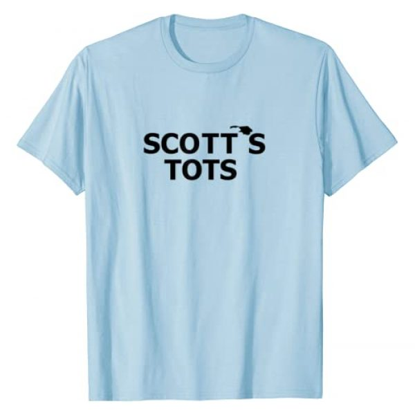 Office, Ink Graphic Tshirt 1 Scott's Tots The Office Funny T-Shirt