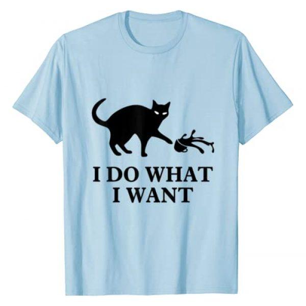 Caterpillar Graphic Tshirt 1 I do what I want cat t shirt T-Shirt