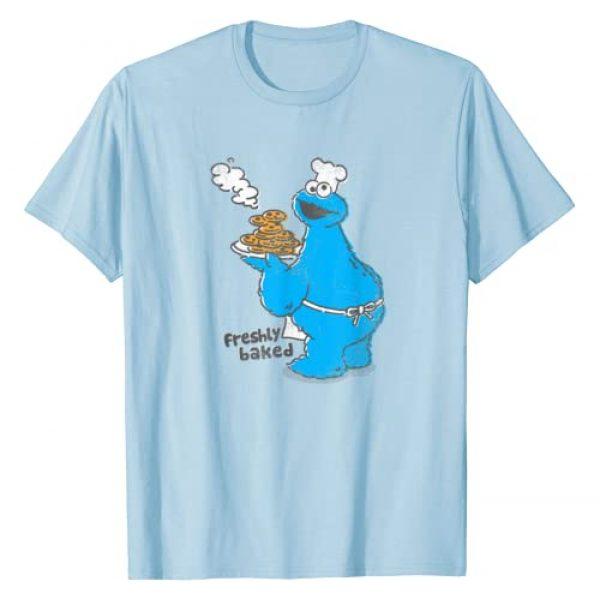 Sesame Street Graphic Tshirt 1 Cookie Monster Freshly Baked T-Shirt