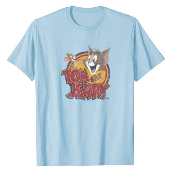 TOM and JERRY Graphic Tshirt 1 Water Damaged T-Shirt