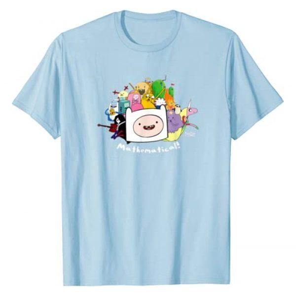 Cartoon Network Graphic Tshirt 1 Adventure Time Mathematical T-Shirt