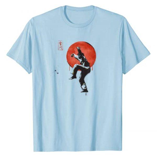Karate Kid Graphic Tshirt 1 The Karate Kid Sumi Ink Crane Kick