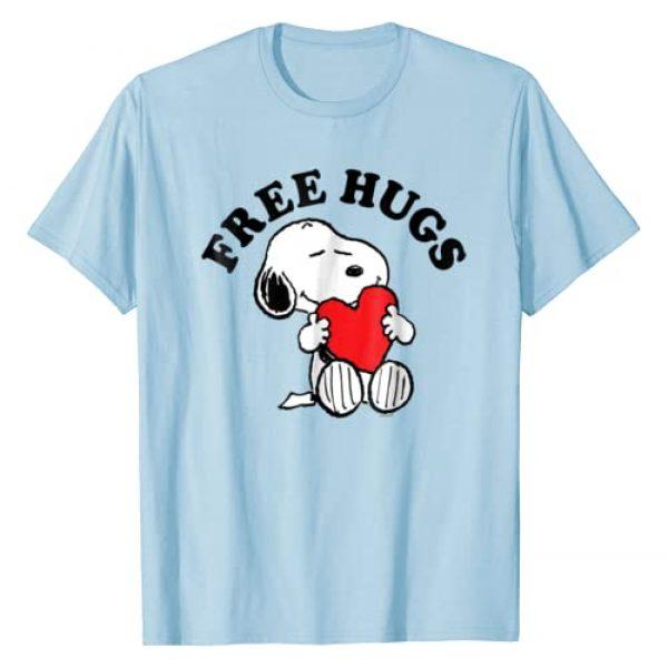 Peanuts Graphic Tshirt 1 Snoopy Free Hugs T Shirt