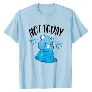 Care Bears Graphic Tshirt 1 Unlock the Magic Grumpy Bear Not Today T-Shirt
