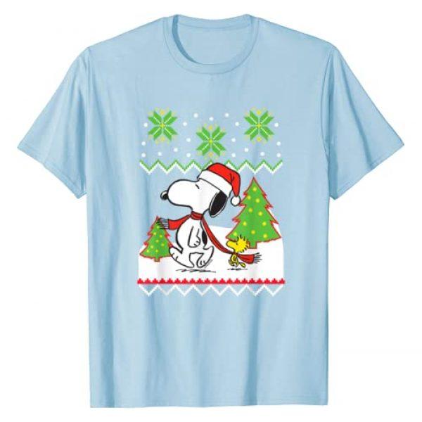 Peanuts Graphic Tshirt 1 Santa Snoopy T-shirt