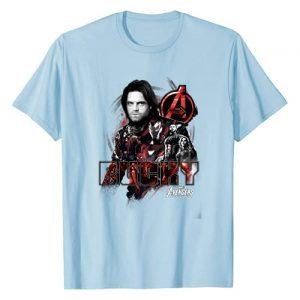 Marvel Graphic Tshirt 1 Avengers Infinity War Bucky Crew Graphic T-Shirt