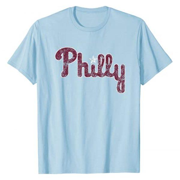 PHI Apparel Co Graphic Tshirt 1 Throwback Philadelphia Baseball Philly PA Retro Fan T-Shirt