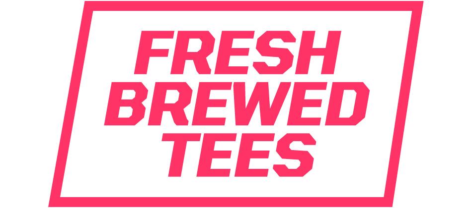 Big Fresh Brewed Tshirts Logo