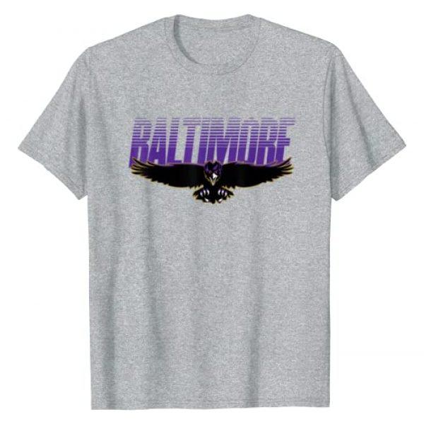 BaltimoreFootballCo. Graphic Tshirt 1 Baltimore Football | Maryland Novelty Gift T-Shirt