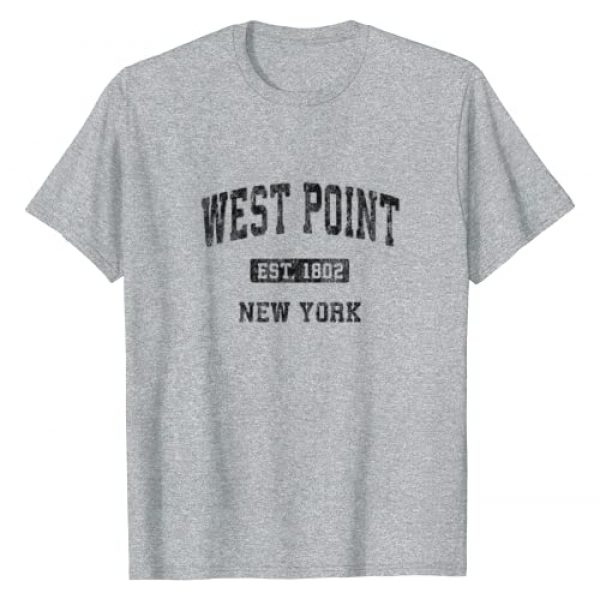 College & University Towns T-Shirts & Tees Graphic Tshirt 1 West Point New York NY Vintage Athletic Sports Design T-Shirt