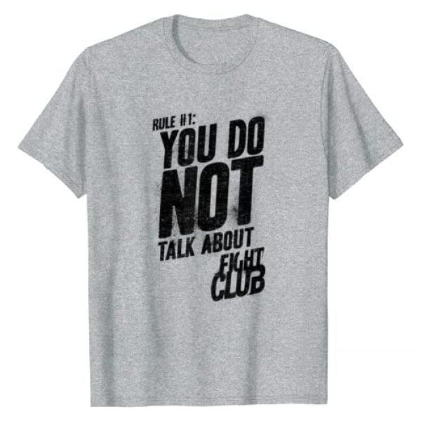 20th Century Fox Movies Graphic Tshirt 1 Fight Club Rule #1 T Shirt