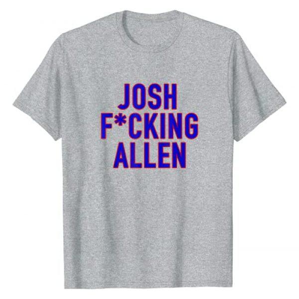 Billieve Apparel Graphic Tshirt 1 Josh Fcking Allen Buffalo Football Josh Allen T-Shirt