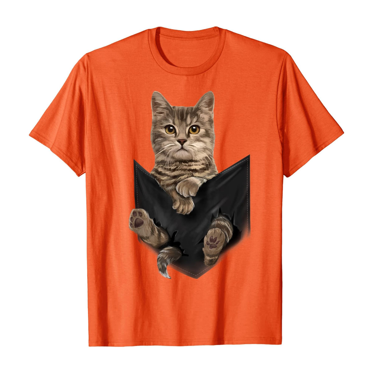 Graphic Tshirt Mens Cat Shirt