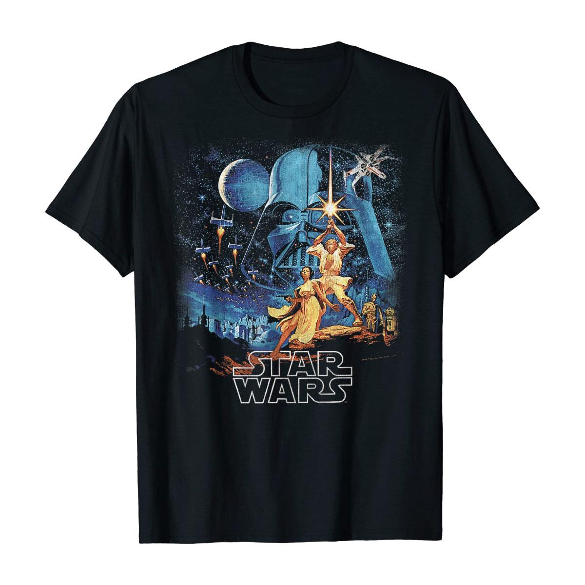 Graphic Tshirt Mens Classic Star Wars Shirt